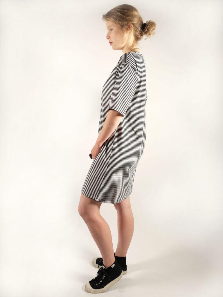 Kleid, Ringelkleid, Baumwolle, Biobaumwolle, organic cotton