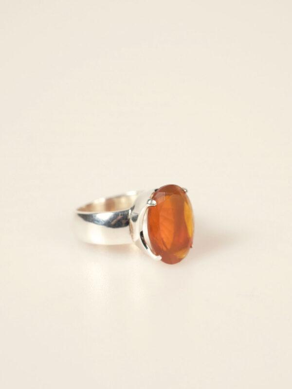 Ring, Sterlingsilber, Feueropal