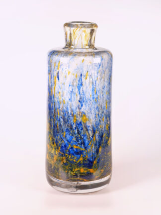 mundgeblasene Vintage Glasvase