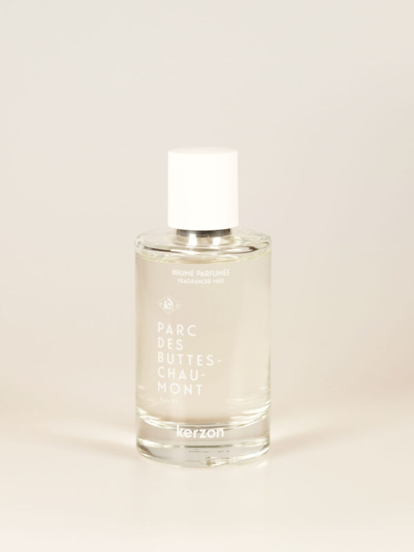 Fragrance inspired by the parc des buttes chaumont