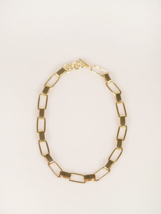 Soko capsule collar necklace gold plated