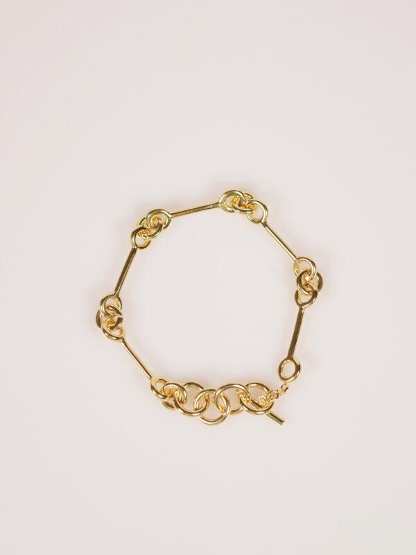 Soko Code Link bracelet gold plated