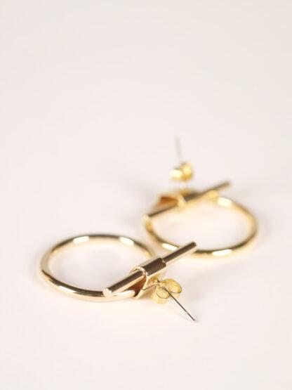 soko isle studs earrings gold plated