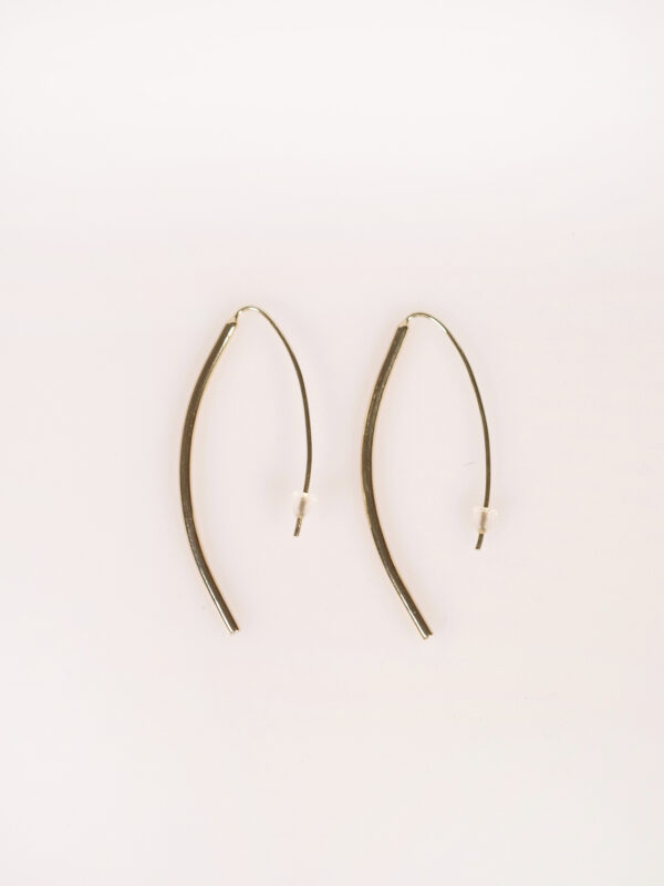 Soko Petite Bow earrings gold plated