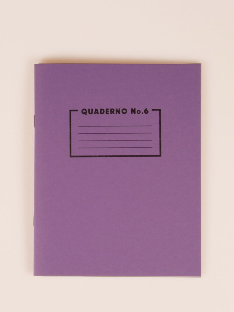Risoprint Notebook with purple dots