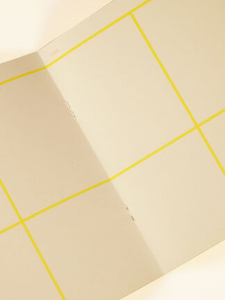 Risoprint Daily planner with large yellow grids