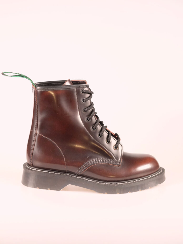 Solovar 8 eye Derby burgundy