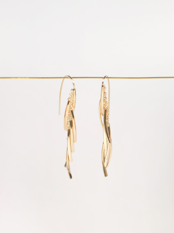 Soko Tamasha Fringe Earrings