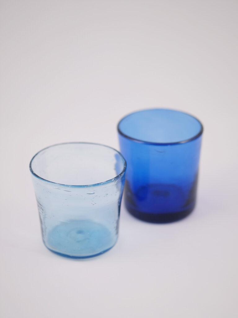 Windlichter aus recyceltem Glas